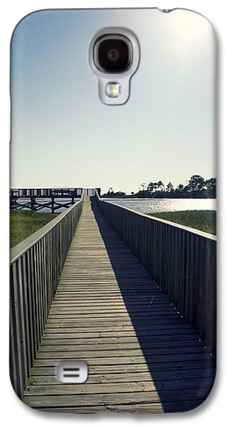 Cedar Key Galaxy S4 Cases - Nice Day For Fishing Galaxy S4 Case by Laurie Perry