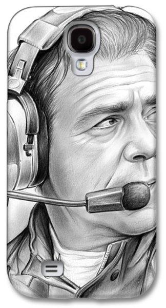 Nick Saban Galaxy S4 Case by Greg Joens