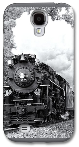 Machinery Galaxy S4 Cases - Nickel Plate 765 2 Galaxy S4 Case by Matt Hammerstein