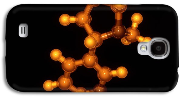 Component Photographs Galaxy S4 Cases - Nicotine Molecule Galaxy S4 Case by Laguna Design
