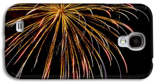 4th July Galaxy S4 Cases - Night Colors Galaxy S4 Case by Phill  Doherty
