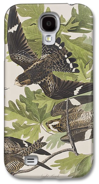 Animals Drawings Galaxy S4 Cases - Night Hawk Galaxy S4 Case by John James Audubon
