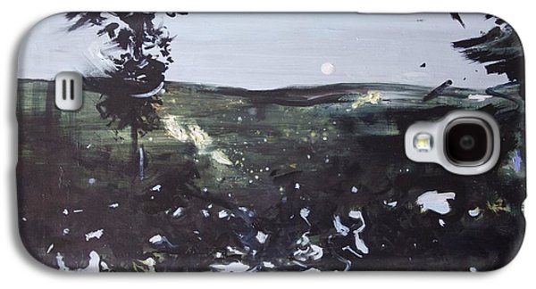 Abstract Landscape Galaxy S4 Cases - Night Landscape from Documentary Still Galaxy S4 Case by Calum McClure