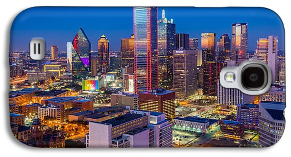 Night Over Dallas Galaxy S4 Case by Inge Johnsson