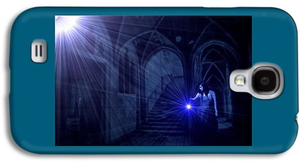 Abstract Digital Pastels Galaxy S4 Cases - Night Search no. 12 H B Galaxy S4 Case by Gert J Rheeders