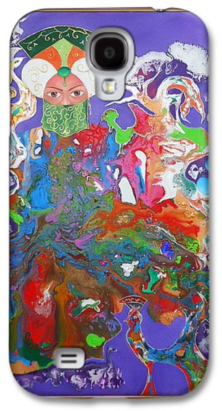 Baghdad Paintings Galaxy S4 Cases - nights Chehrzad Galaxy S4 Case by Hira Bosh