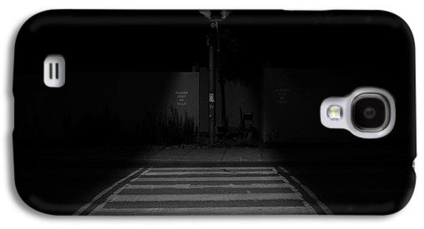 Creepy Galaxy S4 Cases - Nightwalk Galaxy S4 Case by Kreddible Trout
