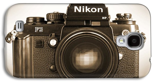 35mm Galaxy S4 Cases - Nikon F3 HP Galaxy S4 Case by Mike McGlothlen