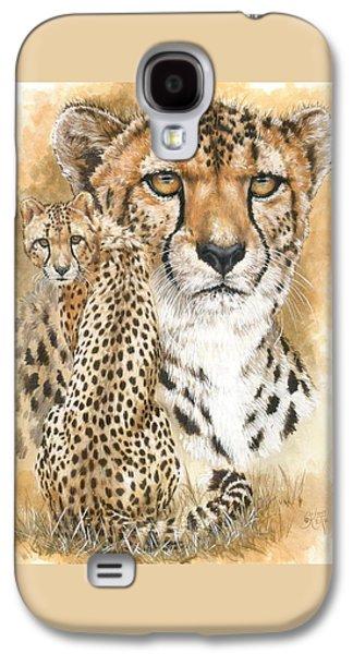 Cheetah Drawings Galaxy S4 Cases - Nimble Galaxy S4 Case by Barbara Keith