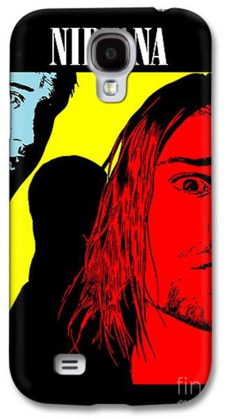 Photomanipulation Galaxy S4 Cases - Nirvana No.01 Galaxy S4 Case by Caio Caldas