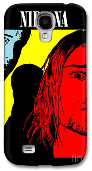 Face Digital Galaxy S4 Cases - Nirvana No.01 Galaxy S4 Case by Caio Caldas