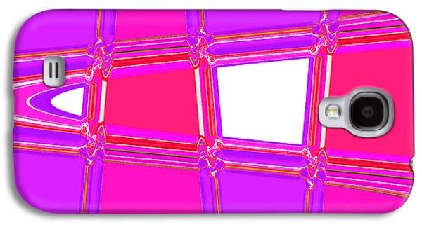 Landscape Acrylic Prints Galaxy S4 Cases - Nixo Abstract ArtN1 Galaxy S4 Case by Nixolas Nixo