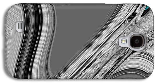 Landscape Acrylic Prints Galaxy S4 Cases - Nixo Abstract C1 Galaxy S4 Case by Nixolas Nixo