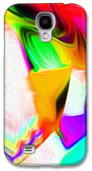Landscape Acrylic Prints Galaxy S4 Cases - Nixo Abstract C477 Galaxy S4 Case by Nixolas Nixo