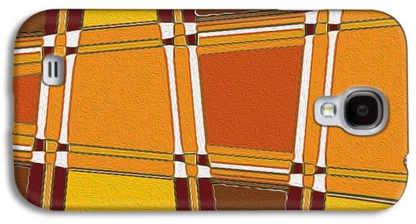 Landscape Acrylic Prints Galaxy S4 Cases - Nixo Abstract F78 Galaxy S4 Case by Nixolas Nixo