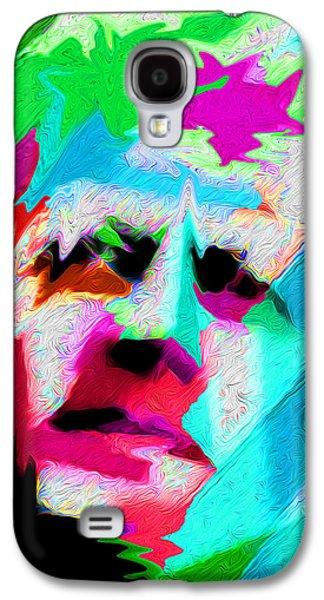Landscape Acrylic Prints Galaxy S4 Cases - Nixo Abstract Kennedy Q5 Galaxy S4 Case by Nixolas Nixo