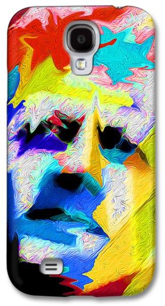 Landscape Acrylic Prints Galaxy S4 Cases - Nixo Abstract Kennedy Q6 Galaxy S4 Case by Nixolas Nixo