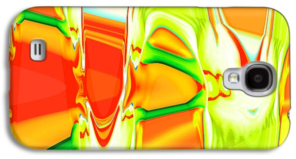 Landscape Acrylic Prints Galaxy S4 Cases - Nixo Abstract  R690 Galaxy S4 Case by Nixolas Nixo