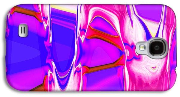 Landscape Acrylic Prints Galaxy S4 Cases - Nixolas Abstract W3 Galaxy S4 Case by Nixolas Nixo