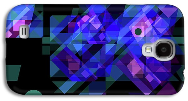 Abstract Digital Drawings Galaxy S4 Cases - No Illusions Galaxy S4 Case by Lynda Lehmann
