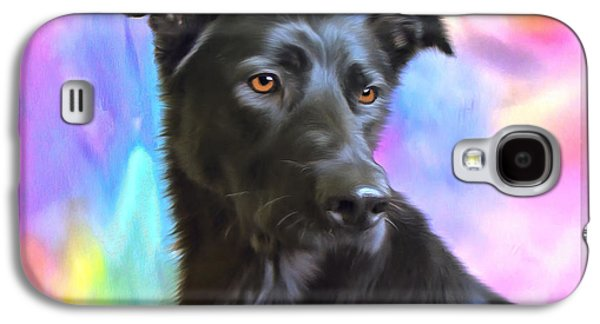 Puppies Digital Art Galaxy S4 Cases - No Place Like Home 2015 Galaxy S4 Case by Kathryn Strick