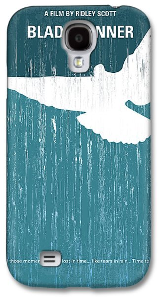 No011 My Blade Runner Minimal Movie Poster Galaxy S4 Case by Chungkong Art