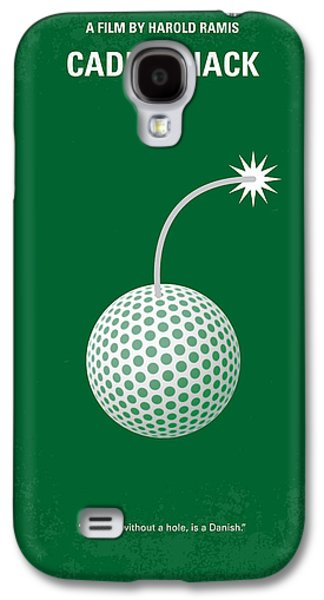 No013 My Caddy Shack Minimal Movie Poster Galaxy S4 Case by Chungkong Art