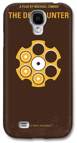 Michael Digital Galaxy S4 Cases - No019 My Deerhunter minimal movie poster Galaxy S4 Case by Chungkong Art