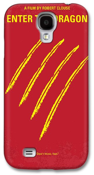 No026 My Enter The Dragon Minimal Movie Poster Galaxy S4 Case by Chungkong Art