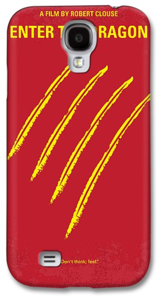 Fantasy Galaxy S4 Cases - No026 My Enter the dragon minimal movie poster Galaxy S4 Case by Chungkong Art
