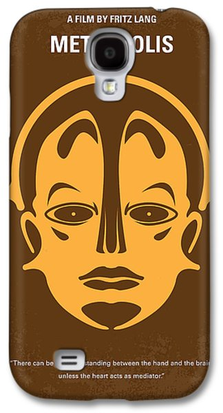 No052 My Metropolis Minimal Movie Poster Galaxy S4 Case by Chungkong Art