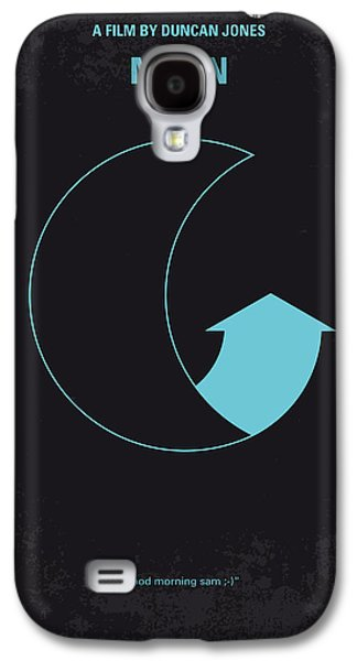 Evening Digital Galaxy S4 Cases - No053 My Moon 2009 minimal movie poster Galaxy S4 Case by Chungkong Art