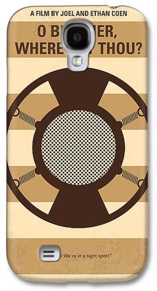 No055 My O Brother Where Art Thou Minimal Movie Poster Galaxy S4 Case by Chungkong Art