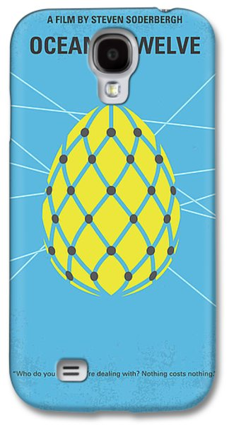 No057 My Oceans 12 Minimal Movie Poster Galaxy S4 Case by Chungkong Art