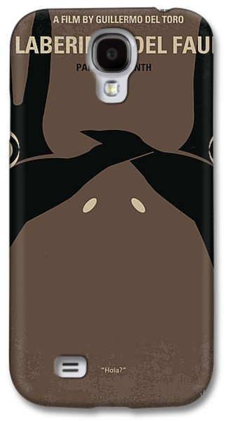 Girl Galaxy S4 Cases - No061 My Pans Labyrinth minimal movie poster Galaxy S4 Case by Chungkong Art