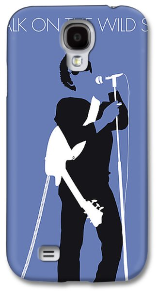 No068 My Lou Reed Minimal Music Poster Galaxy S4 Case by Chungkong Art