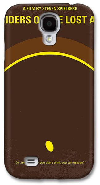 No068 My Raiders Of The Lost Ark Minimal Movie Poster Galaxy S4 Case by Chungkong Art