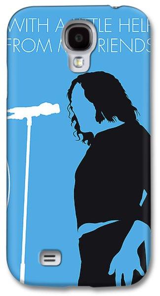 No069 My Joe Cocker Minimal Music Poster Galaxy S4 Case by Chungkong Art