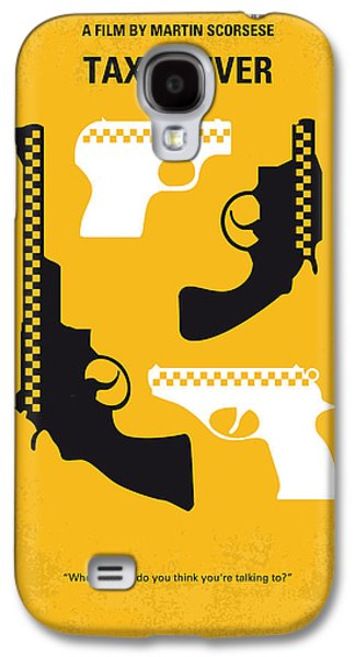 New York Digital Galaxy S4 Cases - No087 My Taxi Driver minimal movie poster Galaxy S4 Case by Chungkong Art