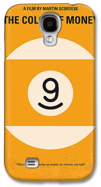 No089 My The Color Of Money Minimal Movie Poster Galaxy S4 Case by Chungkong Art