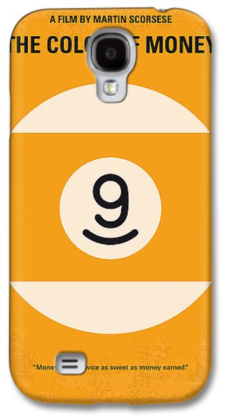 Fan Art Galaxy S4 Cases - No089 My The color of money minimal movie poster Galaxy S4 Case by Chungkong Art