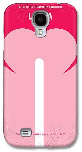 Charlotte Galaxy S4 Cases - No109 My Lolita movie poster Galaxy S4 Case by Chungkong Art