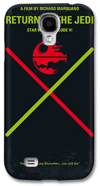 No156 My Star Wars Episode Vi Return Of The Jedi Minimal Movie Poster Galaxy S4 Case by Chungkong Art