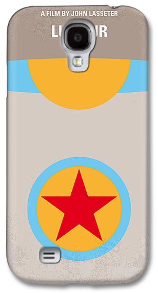 No171 My Luxo Jr Minimal Movie Poster Galaxy S4 Case by Chungkong Art