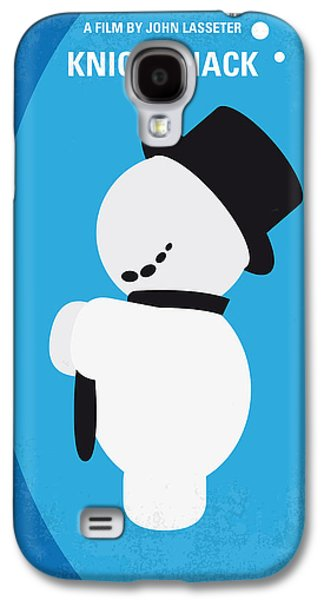Animation Galaxy S4 Cases - No172 My Knick Knack minimal movie poster Galaxy S4 Case by Chungkong Art