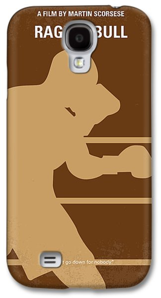 Boxer Digital Galaxy S4 Cases - No174 My Raging Bull minimal movie poster Galaxy S4 Case by Chungkong Art