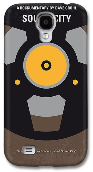 Raging Galaxy S4 Cases - No181 My Sound City minimal movie poster Galaxy S4 Case by Chungkong Art