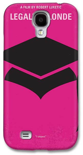 Schools Galaxy S4 Cases - No301 My Legally Blonde minimal movie poster Galaxy S4 Case by Chungkong Art