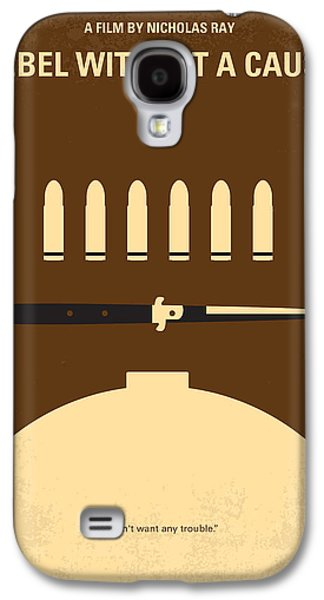Rebel Galaxy S4 Cases - No318 My Rebel without a cause minimal movie poster Galaxy S4 Case by Chungkong Art