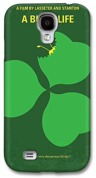 No401 My A Bugs Life Minimal Movie Poster Galaxy S4 Case by Chungkong Art